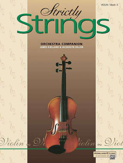 photo of Strictly Strings, Orchestra Companion, Violin, Book 3