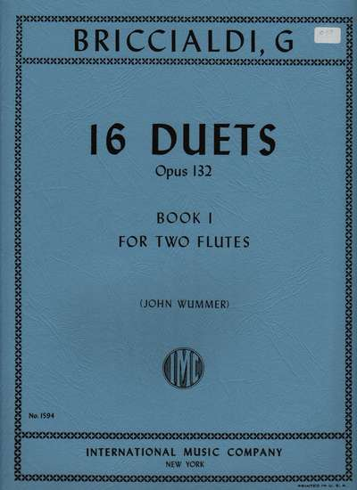 photo of 16 Duets, Op. 132, Book I