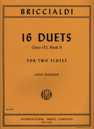 photo of 16 Duets, Op. 132, Book II