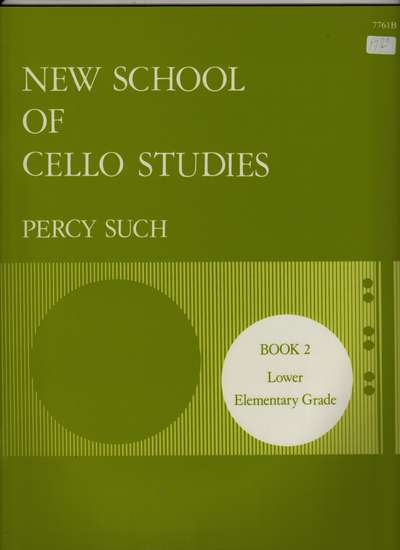 photo of New School of Cello Studies, Book 2, Lower Elementary Grade