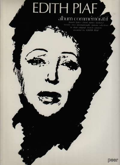 photo of Edith Piaf album commémoratif, 22 selections