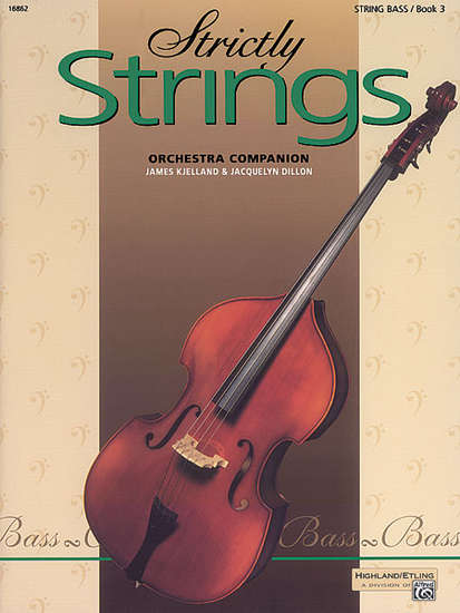 photo of Strictly Strings, Orchestra Companion, Bass, Book 3