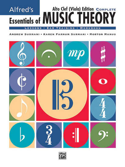 photo of Essentials of Music Theory, Complete, Viola/ Alto Clef