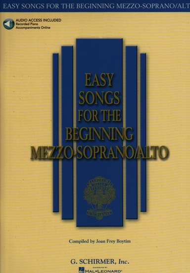 photo of Easy Songs for the Beginning Mezzo-Soprano/ Alto