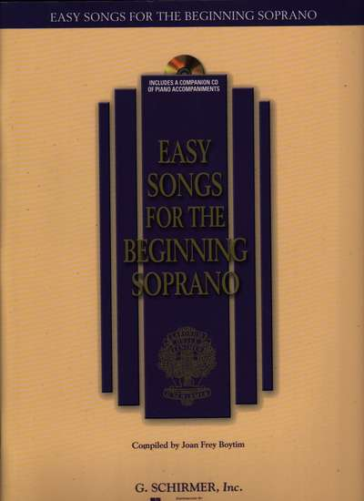 photo of Easy Songs for the Beginning Soprano