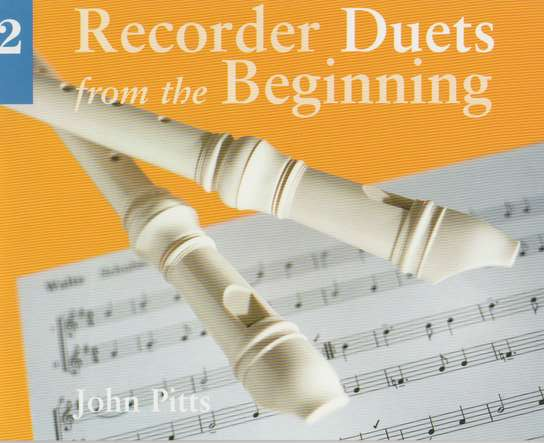 photo of Recorder Duets from the Beginning, Book 2