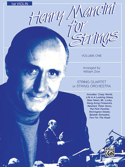 photo of Henry Mancini for Strings, Volume 1, 1st violin