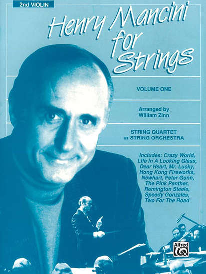 photo of Henry Mancini for Strings, Volume 1, 2nd violin