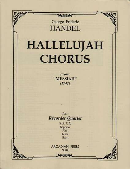 photo of Hallelujah Chorus From: Messiah