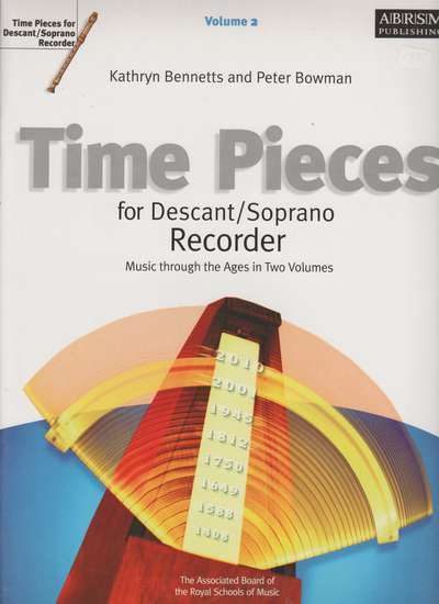 photo of Time Pieces for Descant/ Soprano Recorder, Volume 2