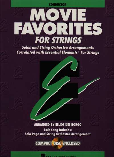photo of Movie Favorites for Strings, Conductor Score & CD