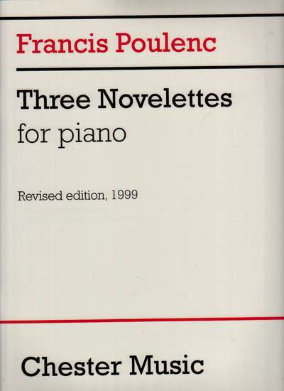 photo of Three Novelettes for Piano, Revised Edition, 1999
