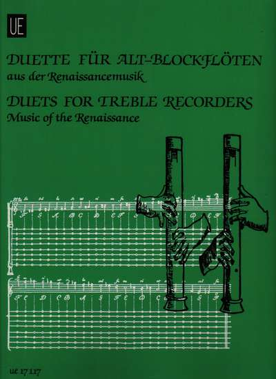 photo of Duets for Treble Recorders, Music of the Renaissance