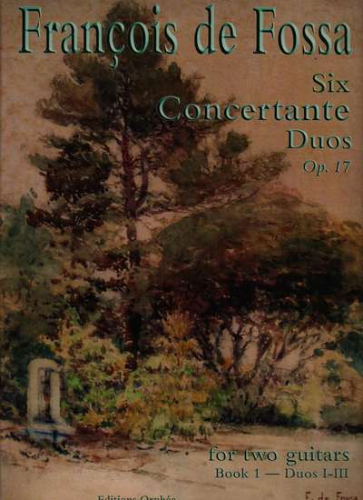 photo of Six Concertante Duos, Op. 17, Book 1-Duos I-III
