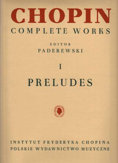 photo of Chopin Complete Works I Preludes