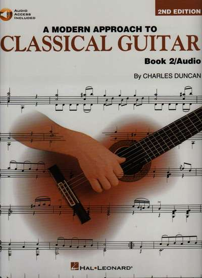 photo of A Modern Approach to Classical Guitar, Book 2