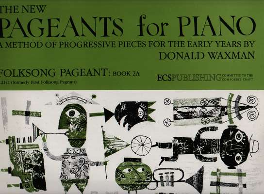 photo of The New Pageants for Piano, Folksong Pageant: Book 2A