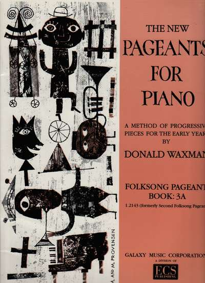 photo of The New Pageants for Piano, Folksong Pageant: Book 3A