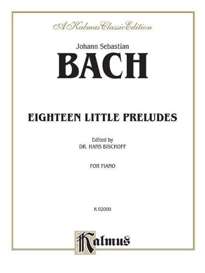 photo of Eighteen Little Preludes, BWV 933-938 and others