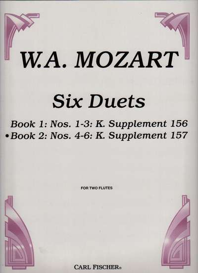 photo of Six Duets, Book II, Nos. 4-6: K. Supplement 157, Op. 75