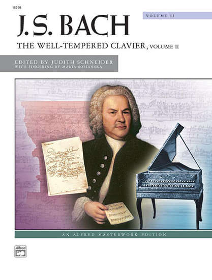 photo of The Well-Tempered Clavier, Vol. II