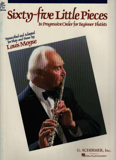 photo of Sixty-five Little Pieces in Progressive Order for Beginner Flutists
