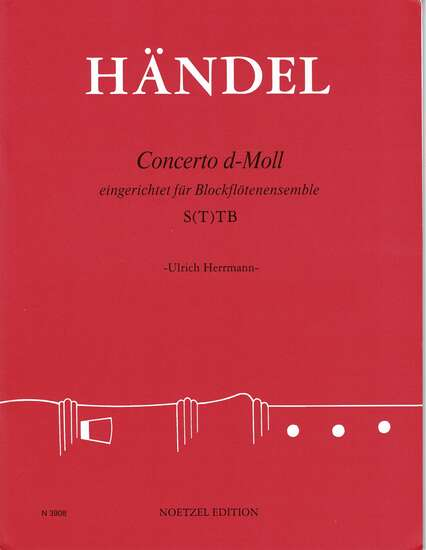 photo of Concerto d-moll, Op. 3, No. 5  HWV 316