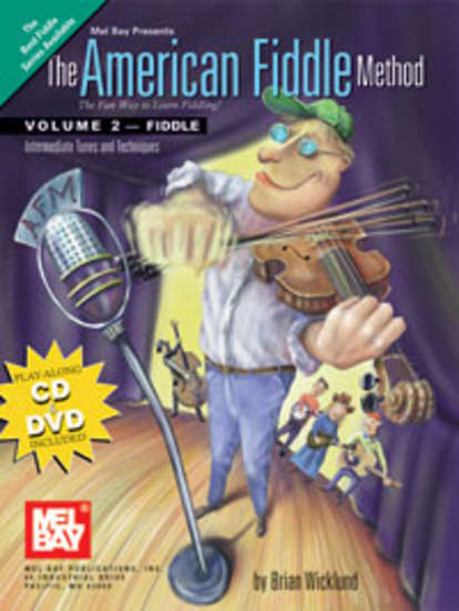 photo of The American Fiddle Method, Vol. 2 book,DVD and CD