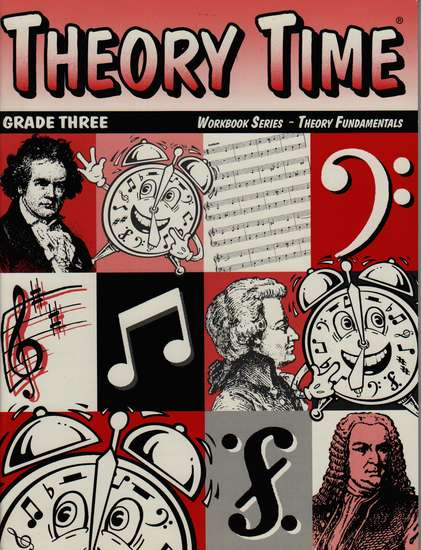 photo of Theory Time Workbook Grade 3, Theory Fundamentals