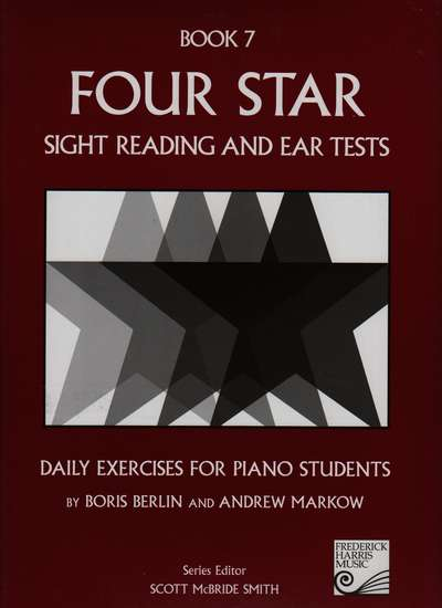 photo of Four Star Sight Reading and Ear Tests, Book 7