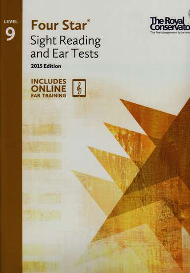 photo of Four Star Sight Reading and Ear Tests, Book 9, 2015 Edition