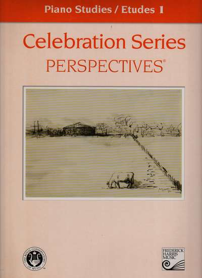 photo of Celebration Series, Perspectives, Piano Studies/Etudes Book 1