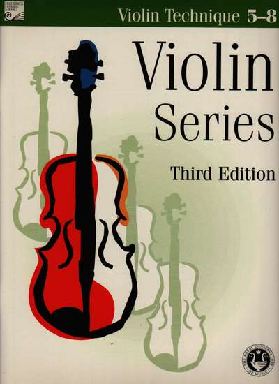 photo of Violin Series, Third Edition, Technique  Level 5-8
