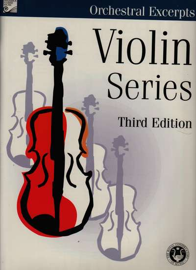 photo of Violin Series, Third Edition, Orchestral Excerpts