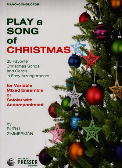photo of Play a Song of Christmas, 35 Favorite Christmas Songs, Piano-Conductor