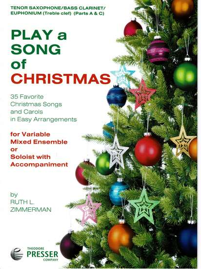 photo of Play a Song of Christmas, 35 Favorite Christmas Songs, Tenor Sax Parts A and C
