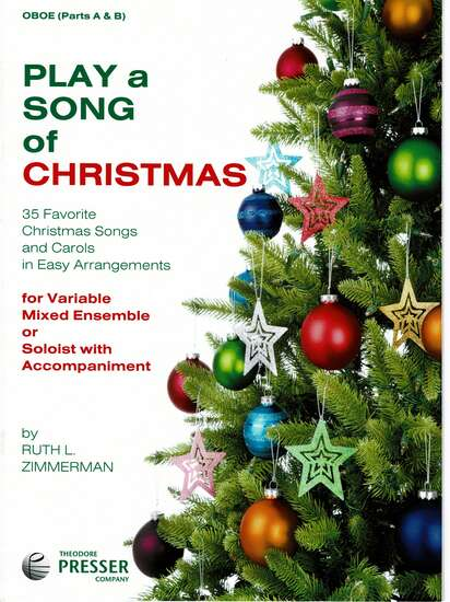 photo of Play a Song of Christmas, 35 Favorite Christmas Songs, Oboe Parts A and B