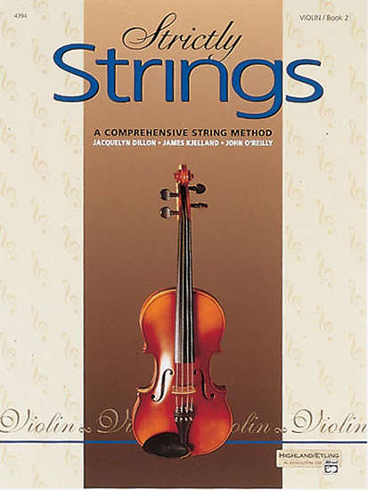 photo of Strictly Strings, Orchestra Companion, Violin, Book 2