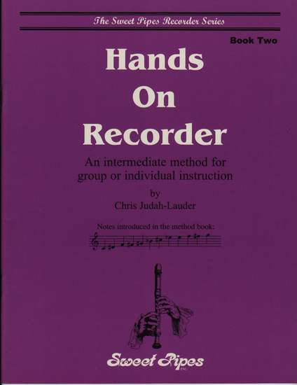 photo of Hands on Recorder, Book 2