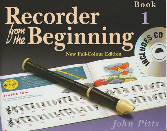 photo of Recorder from the Beginning, Book 1, New Full-Colour Edition with CD