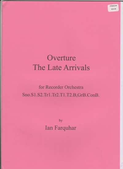 photo of Overture The Late Arrivals (An Antidote to Haydn