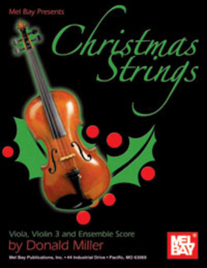 photo of Christmas Strings, Viola, Violin 3 and Ensemble Score