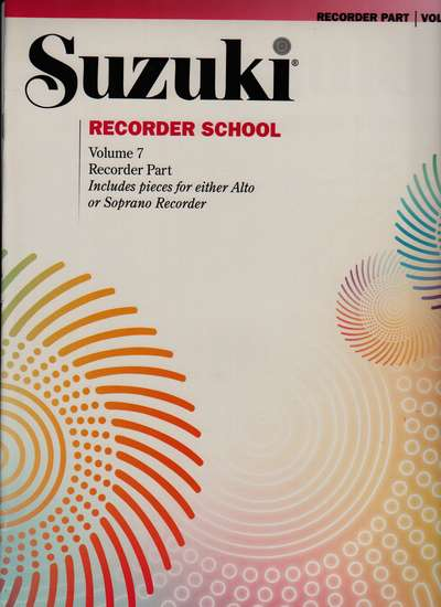 photo of Suzuki Recorder School, Vol. 7, Soprano and Alto