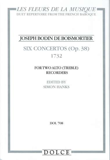 photo of Six Concertos (Op. 38) 1732