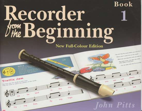photo of Recorder from the Beginning, Book 1, New Full-Colour Edition