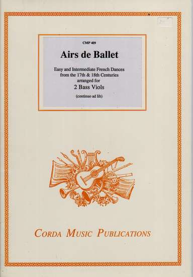 photo of Airs de Ballet, French Dances of the 17th and 18th Centuries