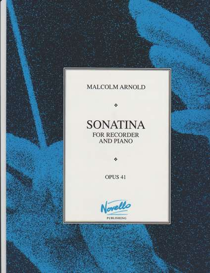 photo of Sonatina for Recorder and Piano, Opus 41