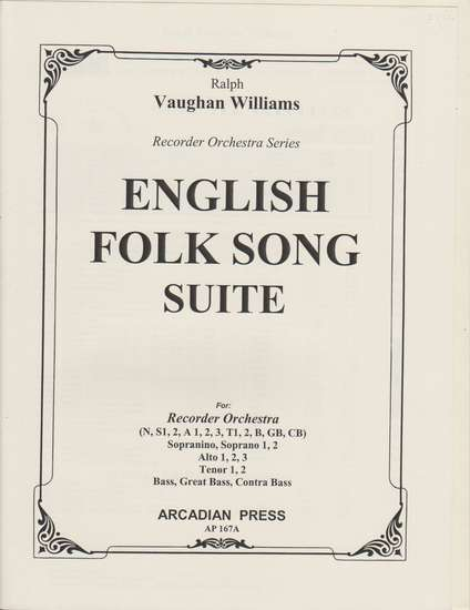 photo of English Folk Song Suite