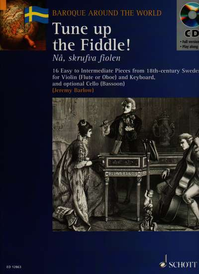 photo of Tune up the Fiddle, 16 easy to intermediate pieces from 18th cent. Sweden, CD
