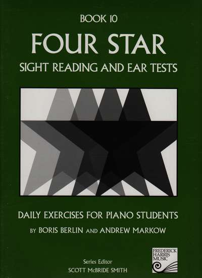 photo of Four Star Sight Reading and Ear Tests, Book 10